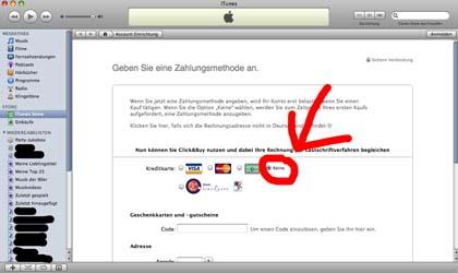 Tutorial iTunes ohne Kreditkarte 5